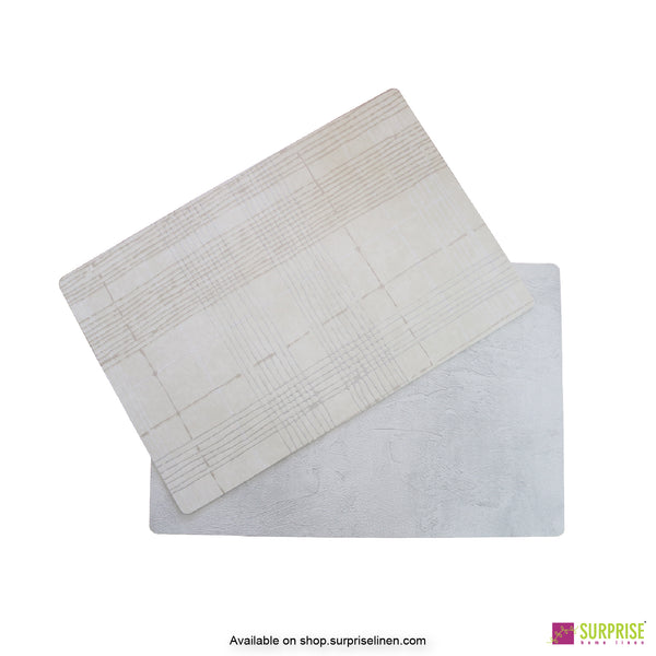 Surprise Home - Papel Table Mats 6 pc Set (Striped Stone)