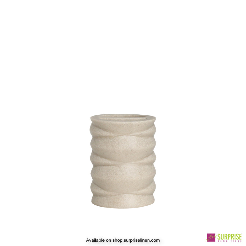 Surprise Home - Hue Series 4 Pcs Bath Set (Layered Ivory)