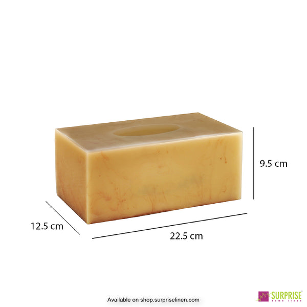 Surprise Home - Primo  Tissue Box (Yellow)