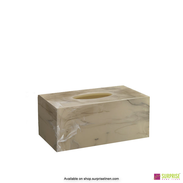 Surprise Home - Primo Tissue Box (Smoke Grey)