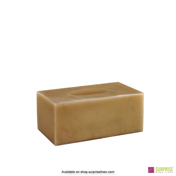 Surprise Home - Primo  Tissue Box (Pale Yellow)
