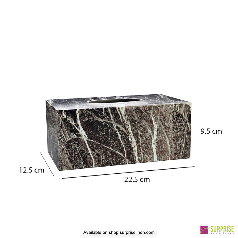 Surprise Home - Recto Tissue Box (Thunder Grey)