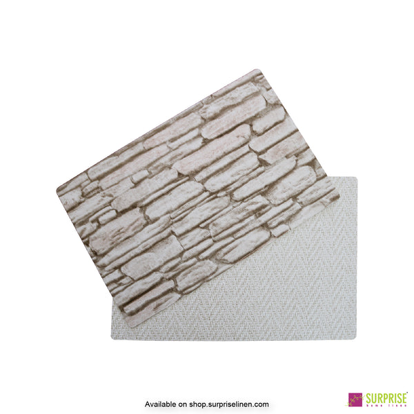 Surprise Home - Papel Table Mats 6 pc Set (Stone Wall)
