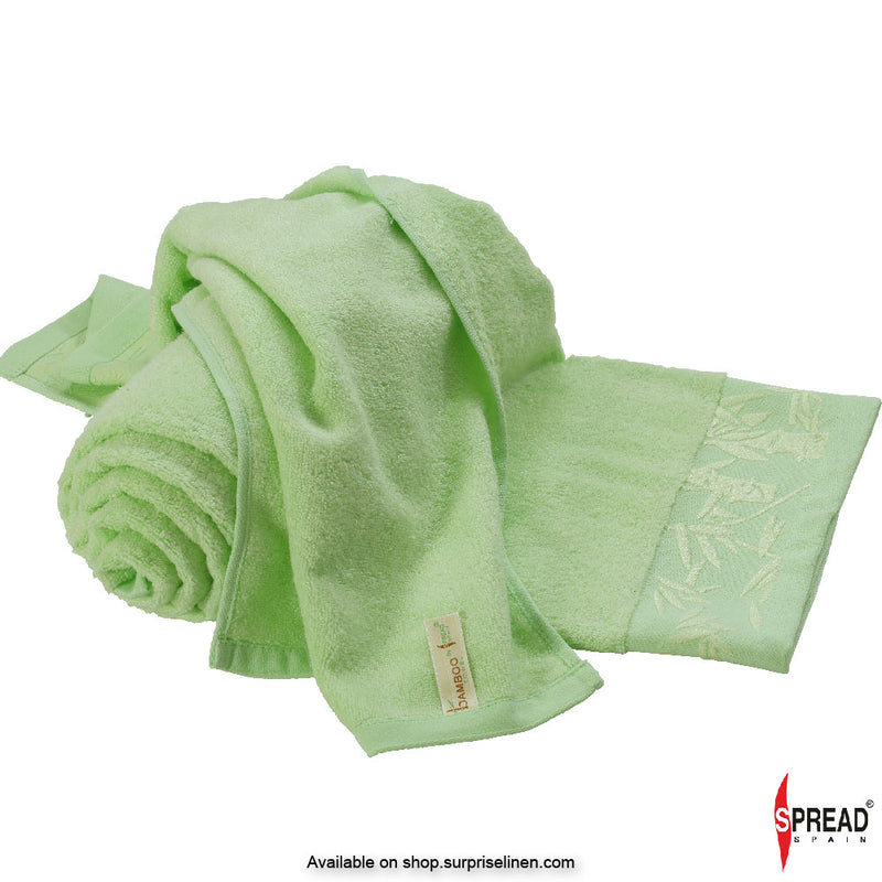 Spread Home - Bamboo Towel - Lime (High Absorbent & Super Soft 360 GSM)