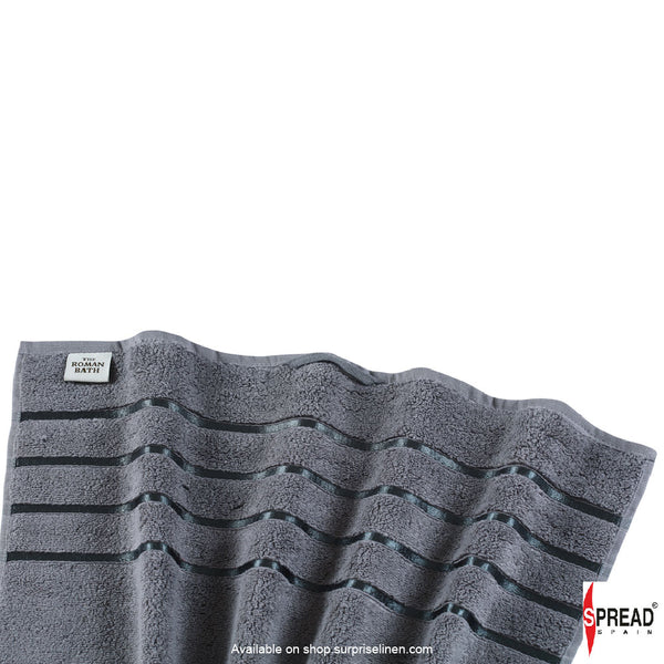 Spread Home - The Roman Bath - Grey Towel (Ultra Soft Pure Cotton 600 GSM)