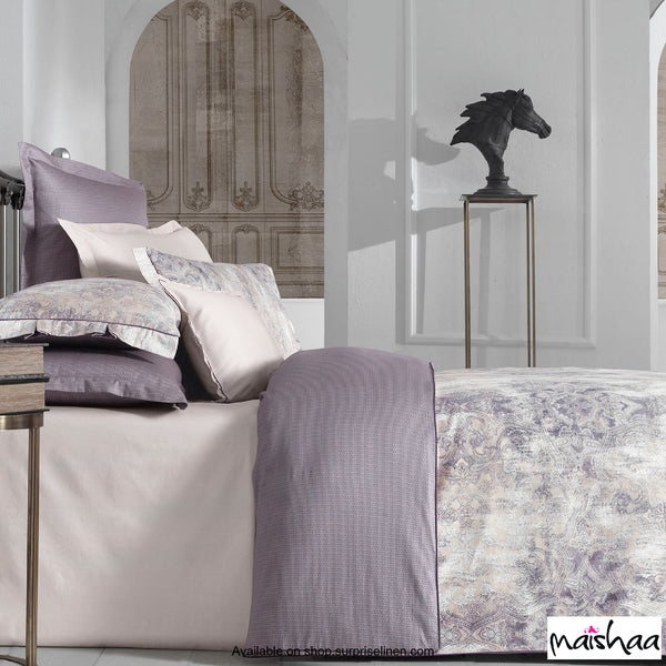Maishaa - Odilia Collection Tripoli Bed Sheet Set (Lilac)