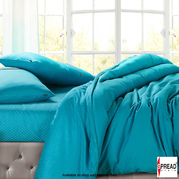 Spread Home - Oxford Street 400 Thread Count Duvet Cover (Turquoise)