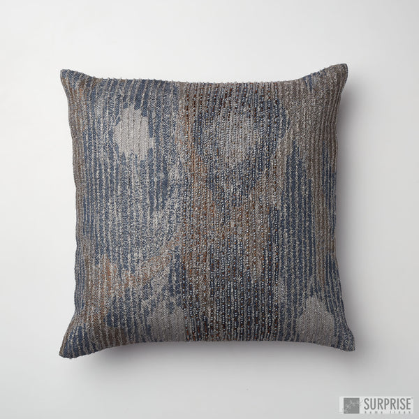 Surprise Home - Beaded Rain Cushion Covers (Light Grey)