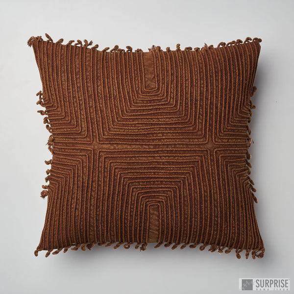 Surprise Home - Chords Cushion Covers (Telephone Brown)