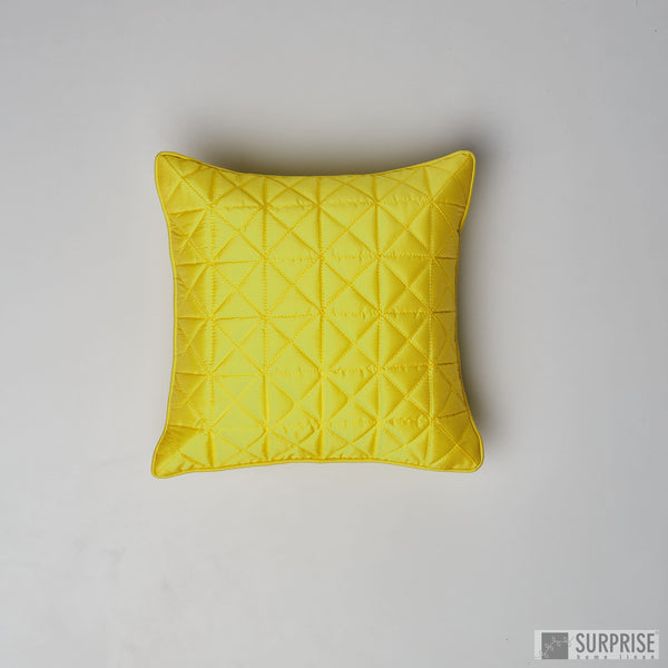 Surprise Home - Grid 30 x 30 cms Cushion Covers (Fluorescent)