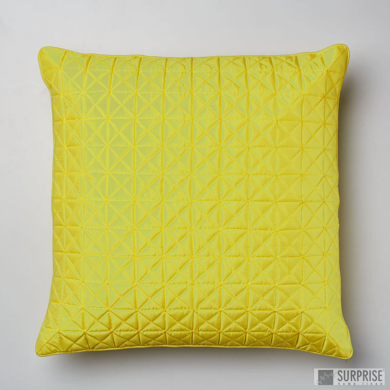 Surprise Home - Grid 60 x 60 cms Cushion Covers (Fluorescent)