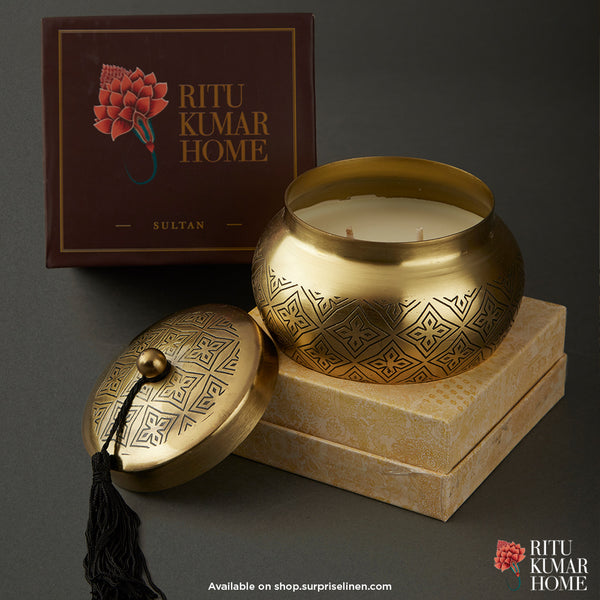 Ritu Kumar Home - Awadh Votive (Brass)