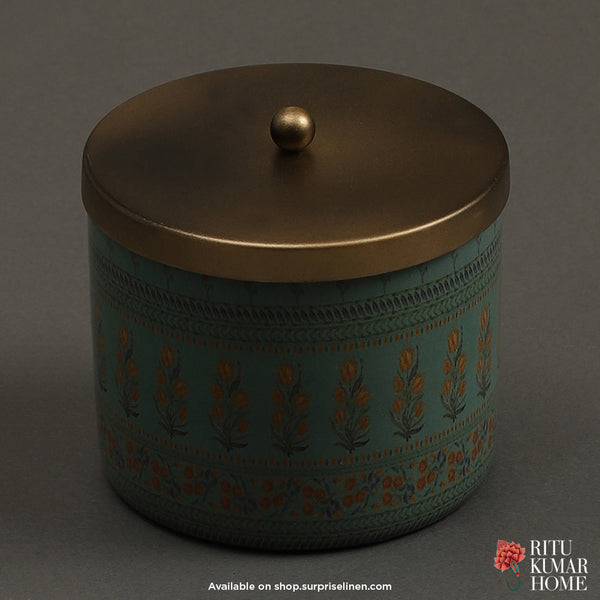 Ritu Kumar Home - Jal Mahal Votive (Blue)