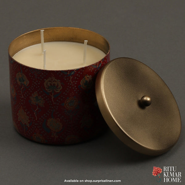 Ritu Kumar Home - Lavana Votive (Red)