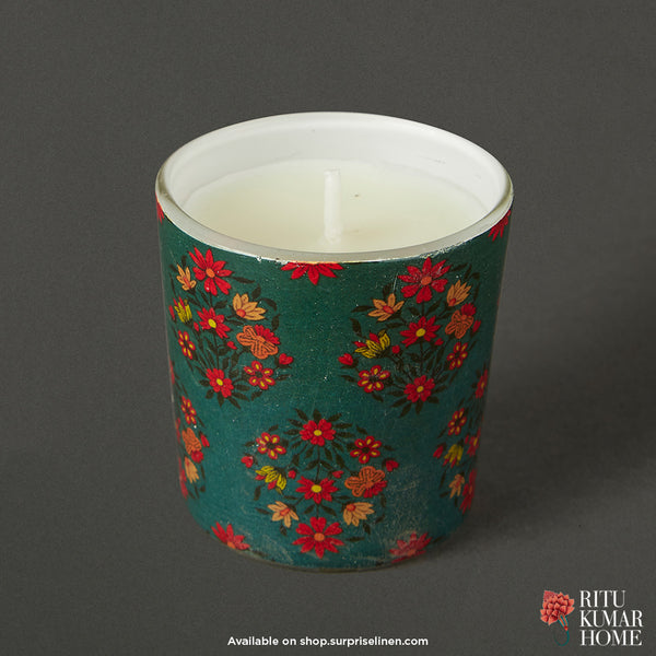 Ritu Kumar Home - Agora 3 Pcs Votive Set (Multicolour)