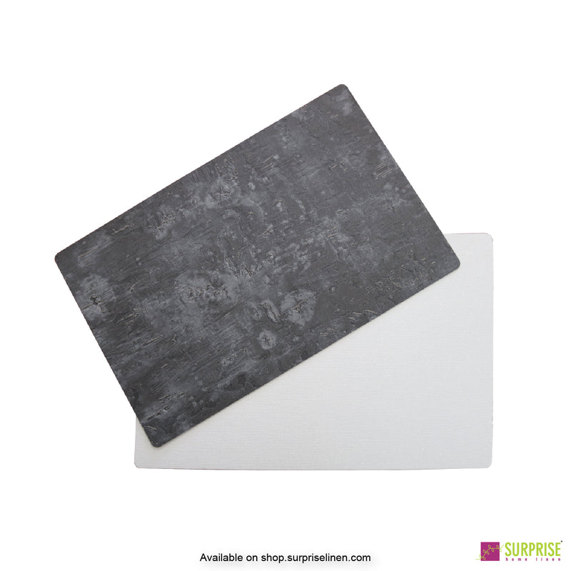 Surprise Home - Papel Table Mats 6 pc Set (Washed Charcoal)