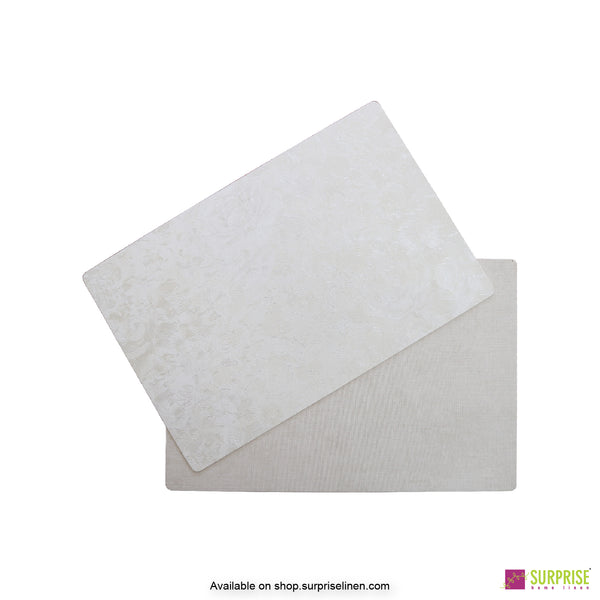 Surprise Home - Papel Table Mats 6 pc Set (Washed Cream)