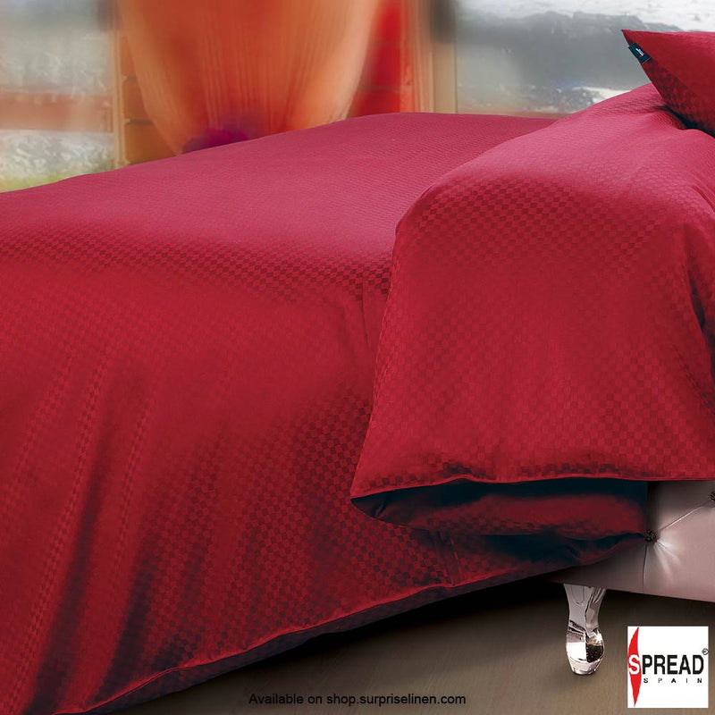 Spread Home - Oxford Street 400 Thread Count (Burgandy)