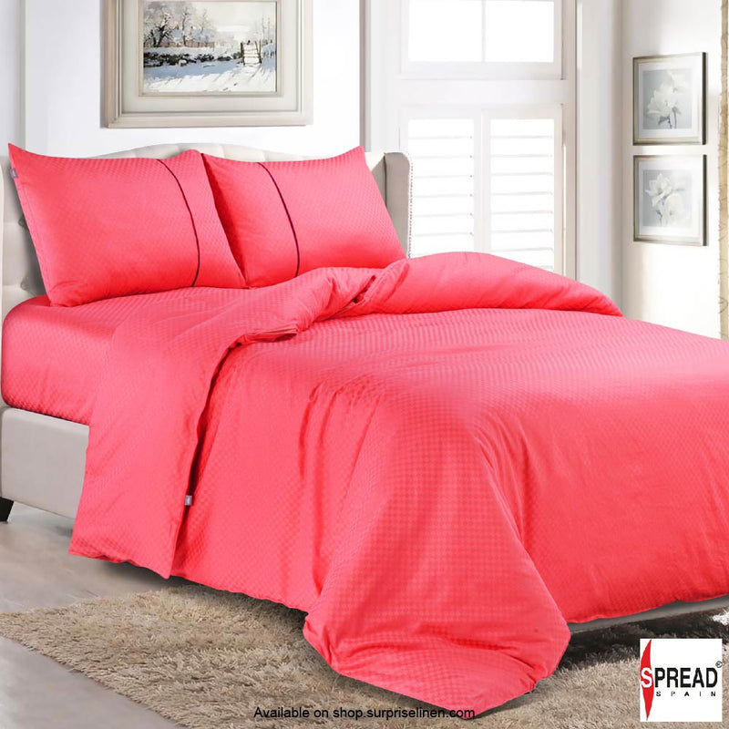 Spread Home - Oxford Street 400 Thread Count (Coral Pink)