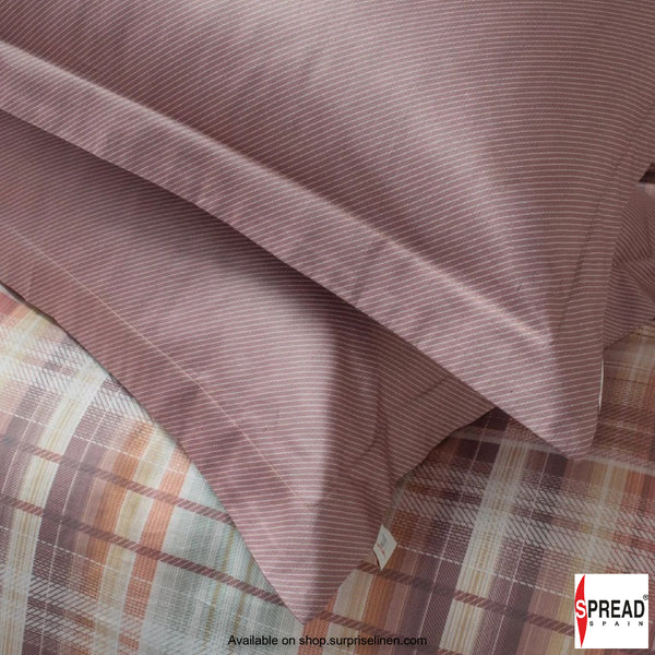 Spread Home - Prints Collection 400TC Bedsheet Set (Copper)