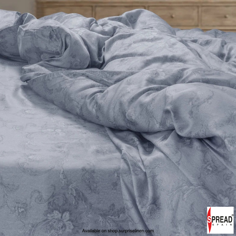 Spread Home - Prints Collection 400TC Bedsheet Set (Grand Grey)