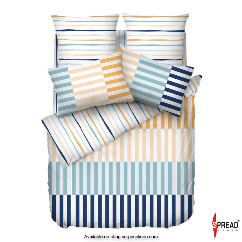 Spread Home - Esprit Prints Collection 400TC Bedsheet Set (Modern Stripes)
