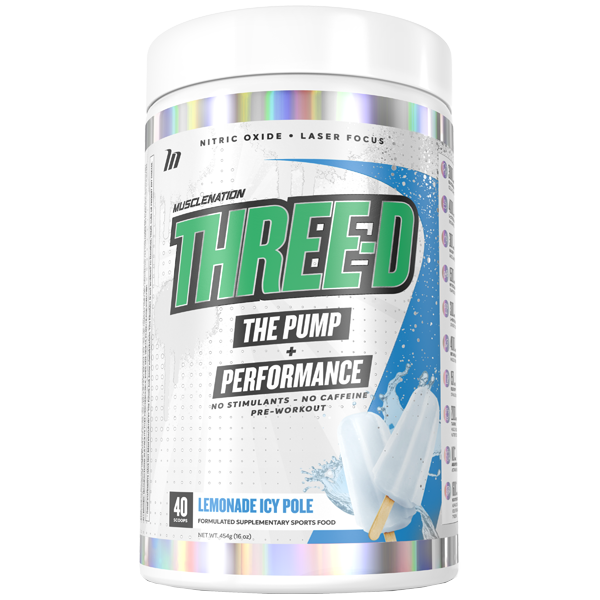 Muscle Nation Three D Pump + Performance