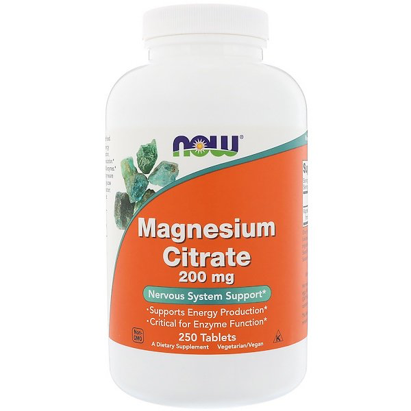 Now Foods Magnesium Citrate