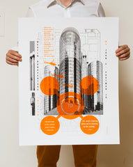 The Machine Project Field Guide to L.A. Architecture Limited Edition Poster Set