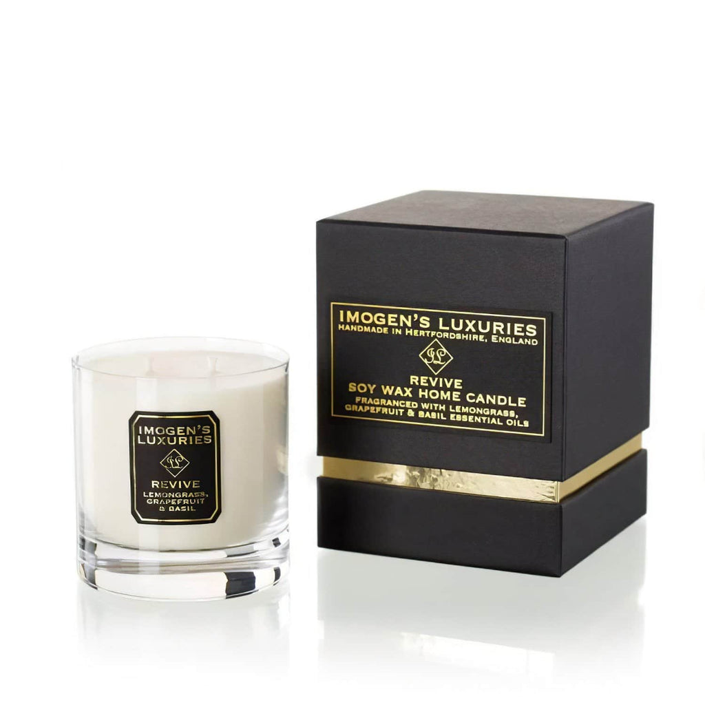 Revive Home Candle - Lemongrass, Grapefruit & Basil