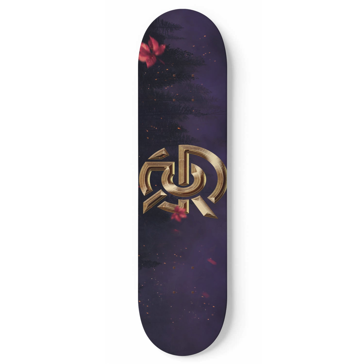 "Custom SPK Royal Skateboard ""Wall Art"""