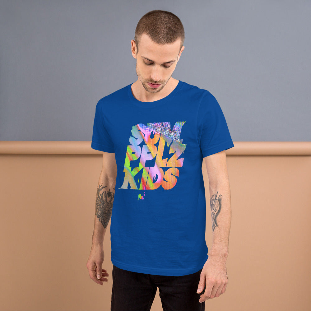 Short-Sleeve 'SumPPLzKids Glitch' Unisex T-Shirt