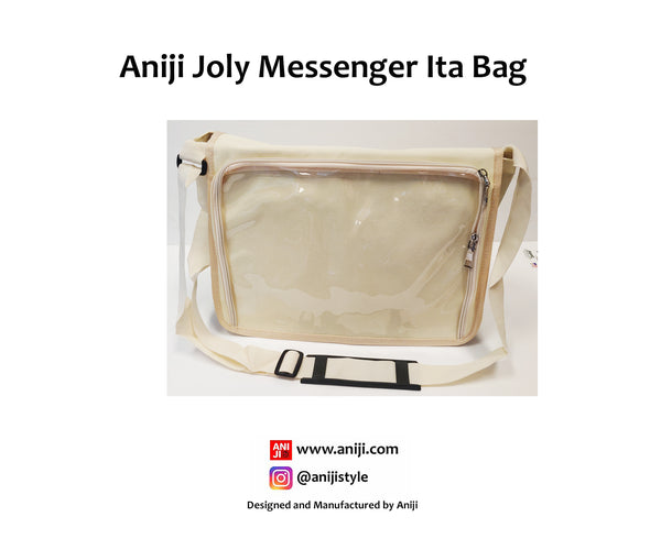 Joly Messenger Ita Bag, Cream