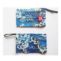 Storage Pouch, Japanese Wave