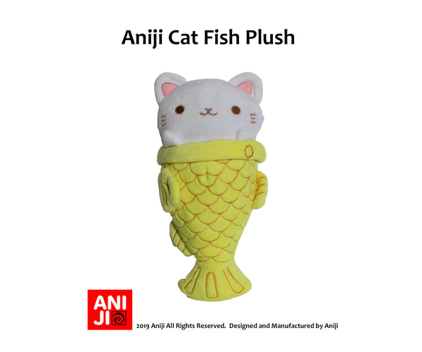 Cat Fish, Taiyaki Kitty Cat Plush