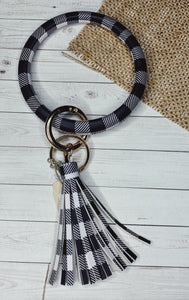Buffalo Plaid Key Chains