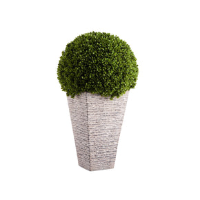 Artificial Boxwood Globe Topiary