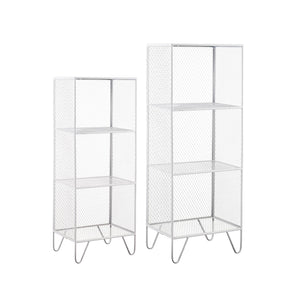 3 Shelf Organizer Set-White