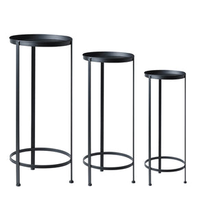 Stackable Plant Stand Trio