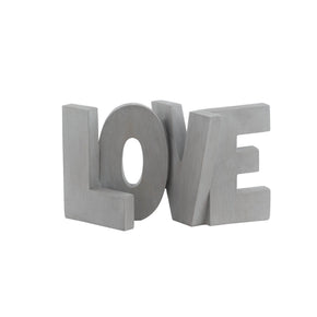 LOVE Block Letters Decor