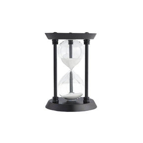 Classic Decorative Hourglass-Black