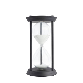 Grand Decorative Hourglass-Black