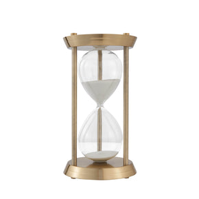 Grand Decorative Hourglass-Gold