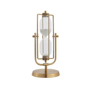 Wayfarer Decorative Sand Timer-Gold