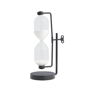 Industrial Decorative Sand Timer-Black