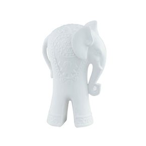 Exquisite Indian Elephant-White