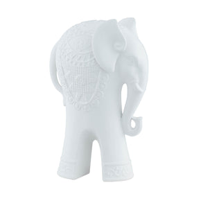 Tall Exquisite Indian Elephant-White