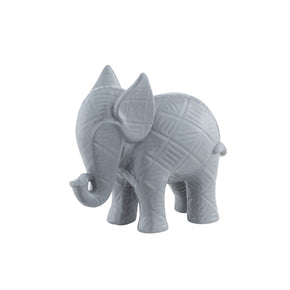 Textured Baby Elephant-Gray