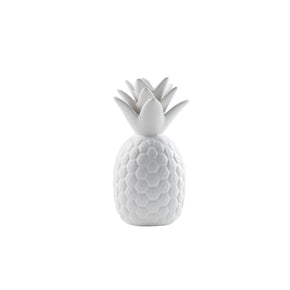 Trendy White Ceramic Pineapple