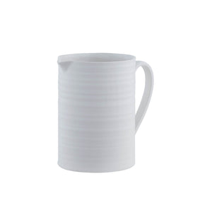 Cottage Charm White Pitcher